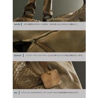 [Reptile's House] 本革 トートバッグ パイソン & ラム革 牛革 2way  メンズ 革小物