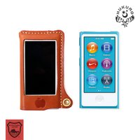 iPod nano 第7世代 ケース 本革 7G 対応 HUKURO 日本最高峰の栃木レザーを使用し...