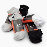 NIKE ナイキ NIKE 3P COTTON CUSHION SOCKS + MOISTURE M...
