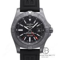 [在庫あり]  ●詳細● ●ブライトリング モデル:アベンジャーII GMT ブラックスチール 型番...