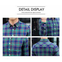 メンズ メンズシャツ シャツ チェックシャツ トップス 長袖カジュアルシャツ 送料無料 チェック柄 メンズトップス コットンネルチェックシャツ