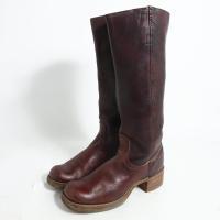 【コンディション】 ランク:B  【サイズ】 レディース25.0cm 表記サイズ:8ハーフB ブーツ...