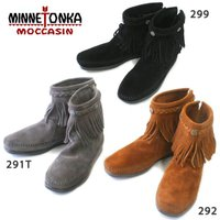 ミネトンカ。ブーツで一躍有名となったアメリカのブランド。北米インディアンの手作り革靴が基本コンセプト...