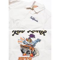 SUGAR CANE シュガーケーン × ROAD RUNNER ロードランナー 刺繍 コットン スポーツジャケット COTTON SPORT JACKET W/EMB'D SC13792-105