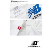 【new balance ニューバランス】メンズ エッセンシャル スタックド ロゴ Tシャツ AMT73587