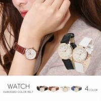 腕時計 レディース レディース腕時計 ブレスレットウォッチ キラキラ 安い おしゃれ プレゼント Jewel ジュエル 型押し