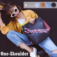 シンプル斜め掛けバッグがオシャレなディテール☆ 付け替え可能なショルダーで気分によって変えられる☆ ...