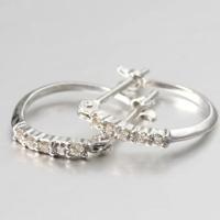 ダイヤモンド ピアス K18YG/WG 0.08ct  素材 : K18YG/WG × ダイヤモンド...