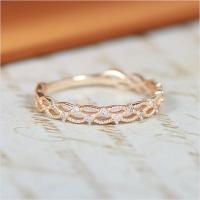 ピンキーリング 指輪 1号〜7号 ゴールド ダイヤモンド レディース 小指