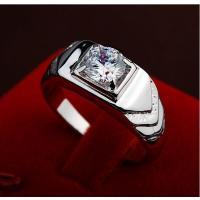 指輪 リング K18 煌きダイヤモンドCZ彩石リング ホワイトゴールドK18RGP大きいサイズ