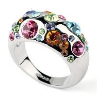 指輪 リング あすつく 大きいサイズ カラフル 豪華 レディースアクセサリー K18 母の日 プレゼント DM便送料無料