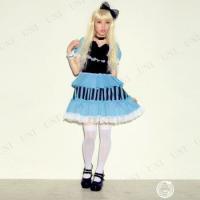 SALE  ゴシックアリスガール コスプレ 衣装 ハロウィン 仮装 コスチューム 大人 パーティー ドレス 童話