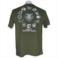 航空自衛隊飛行隊TFSロゴTシャツ   速乾性ドライタイプ 生地は着心地の良い速乾性さわやかドライT...