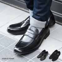 ローファー/メンズ/カジュアルシューズ/靴  ■サイズ:M(26.5-27.0) L(27.0-27...