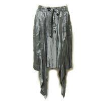 Material レーヨン100%  Size 42 ウエスト74〜84 スカート丈63 (cm) ...