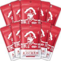 鼻・のど甜茶飴 10袋セット 森下仁丹