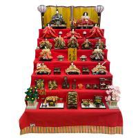 雛人形 久月 7段飾り ひな人形 初節句飾り 七段飾り 15人飾り お祝