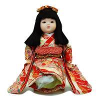 市松人形 抱き人形 (手足が自由に動きます) 童人形 間口30×奥28×高37cm 市松人形・お土産...