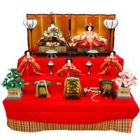 雛人形 コンパクト ミニひな人形 間口90×奥80×高83cm 雛人形/ひな人形の通販販売店。弊社で...