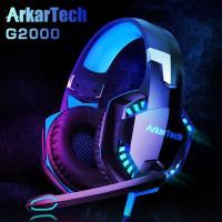 ゲーミング ヘッドセット ARKARTECH G2000 限定セールヘッドホン ヘッドフォン ゲームヘッドセット マイク付き ゲーム用PCパソコン スカイプfps対応