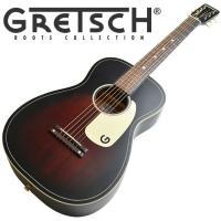 【送料無料】  1930〜50年代のグレッチ・パーラーギターを元に製作されました。約610ミリの短い...