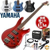 【送料無料】  ヤマハのTRBX300シリーズ4弦モデル。  5段階の「パフォーマンスEQスイッチ」...