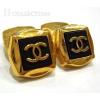 ◆ブランド シャネル ◆商品名 カフス ◆カラー ブラック×ゴールド ◆素材・詳細 メッキ ◆サイズ...