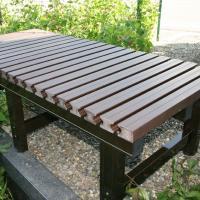 お庭とマイホームをつなぐ、簡単組立式の縁台です。本体構造部材にはアルミを使用し、腐る心配もなく、とて...