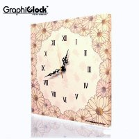 掛け時計 ファブリック デザイン 時計 掛時計 壁掛け時計 おしゃれ インテリア 送料無料  柔らか...