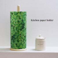 キッチンペーパーをおしゃれにカバーするペーパーホルダーです。鮮やかなグリーンでキッチンのアクセントに...