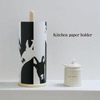キッチンペーパーをおしゃれにカバーするペーパーホルダーです。やぎのゆうびんをモチーフにしたデザイン。...