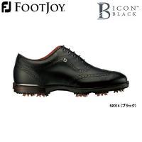 フットジョイ ゴルフシューズ FJアイコン ブラック  美しいフォルム、上質な存在感を漂わせるFJ ...