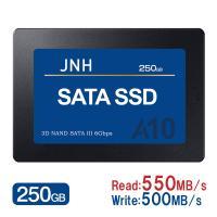 JNH製SSD 250GB 2.5インチ 3D NAND SATAIII対応 SSD パッケージ品 【3年保証・翌日配達】新発売特価 キャッシュレス5%還元対象店