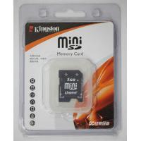 Kingston miniSD カード  容量: 1GB 海外パッケージ品