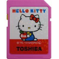 * 東芝 新仕様HELLO KITTY SDHCカード * 海外向けパッケージ品 * 容量:8GB ...