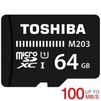 microSDカード マイクロSD microSDXC 64GB Toshiba 東芝 UHS-I U1 新発売100MB/S  海外パッケージ品 ポイント消化