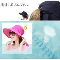 帽子 つば広 ハット リボン レディース UVカット帽子 UVハット 日よけ帽子 小顔