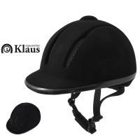 Klausの熱を逃げやすくする通気タイプ乗馬ヘルメットです。  ハーネスは3点固定式で、内部インナー...