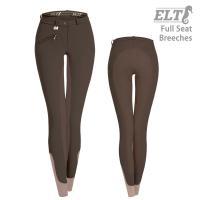 ELTの尻革タイプの女性用キュロットです。  素材は、体になじみやすい肌触りの柔らかいストレッチ入り...