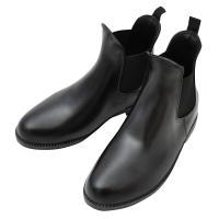 PVC(革より軽量な塩化ビニール)製のジョッパーブーツ(ショートブーツ)です。ベーシックなデザインの...