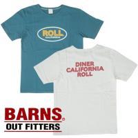 雰囲気たっぷりのプリントTシャツです【BR-6428】 (BARNS バーンズ メンズ トップス 半...