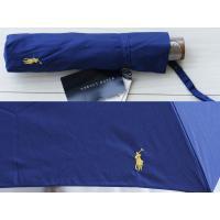 トラッドな雰囲気がお洒落なネイビーカラーの折畳み傘です。UV加工、紫外線軽減加工が施されているので、...