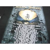 SUICIDAL TENDENCIES スーサイダルテンデンシーズ  2016 US TOUR ツアー Tシャツ 黒 ブラック