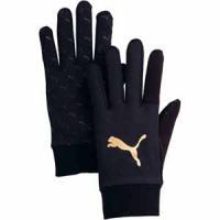 プーマ サッカー用 手袋(ブラック・Lサイズ) PUMA(プーマ) フィールド・プレーヤー グローブJ PJ-041302-01-L 返品種別A