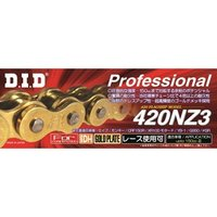 DID バイク用チェーン(カラー:ゴールド /  リンク数:100) 強化 チェーン 420NZ3 SDH-100RB G&G 返品種別A