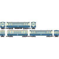 トミーテック (HOナロー) 鉄道コレクション ナローゲージ80 猫屋線 キハ17・ホハフ123・ホハフ110形新塗装 3両セット 返品種別B