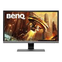 BenQ(ベンキュー) 27.9型ワイド ゲーミングモニター 4K HDR (TNパネル/ 1ms/ FreeSync対応/ HDMI/ DP/ スピーカー/ 最新アイケア機能B.I.+) EL2870U 返品種別A