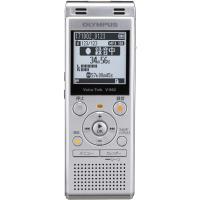 オリンパス 4GBメモリ内蔵+外部マイクロSDスロット搭載ICレコーダー(シルバー) OLYMPUS Voice-Trek V-862-SLV 返品種別A