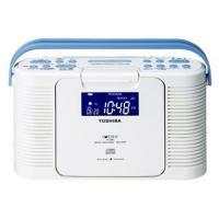 東芝 防水CDラジオ TOSHIBA TY-CDB5-W 返品種別A