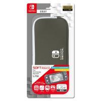 アイレックス (Switch Lite)ソフトポーチ for Nintendo Switch Lite GRAY 返品種別B
